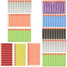 100pc For Nerf N-strike Gun Refill Soft Darts Bullets Toys Round Head Blasters Q