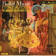 Ballet Music From The Opera anatole fistoulari Original 1960 Rca Red Seal Lp