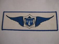 OLD EVERTON FOOTBALL CLUB LARGE OBLONG BLAZER BADGE PATCH