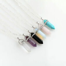 Alloy Natural Stone Costume Necklaces & Pendants