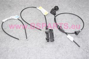 New BMW E46 328Ci, 330i, M3 CSL Hood Release Mechanism Cable Set 51238208442