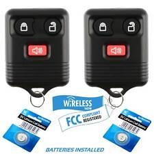 2 Car Key Fob Keyless Remote For 2001 2002 2003 2004 2005 2006 Mazda Tribute Fits Mazda