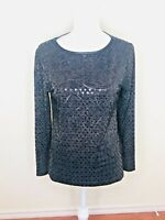 Isaac Mizrahi New York Sequin Top