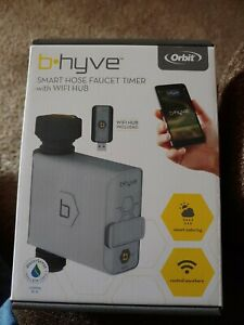 NEW Orbit 21004 B-Hyve Smart Hose Faucet Timer with Wi-Fi Hub