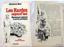 LES KURDES- Mouvement, Partis- KURDS KURDISH Kurdistan- Turkey, Iran, Iraq Syria