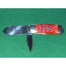 GEC #45 Roughneck Knife Northfield Red IPB Jig Bone 452212 Great Eastern Cutlery