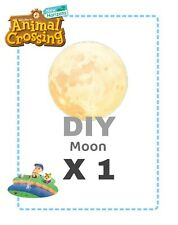 Animal crossing new horizons DIY Luna The Moon Ricetta Recipe 🌕🌕