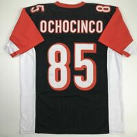 New CHAD OCHOCINCO Cincinnati Black Custom Stitched Football Jersey Size Mens XL