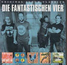 Die Fantastischen Vier / Jetzt geht's ab, 4 gewinnt, Megavier, ua(5 CDs,NEU!)