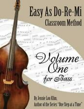 Easy As Do - Re - Mi : Bass Book One by Jennie Klim (2014, Paperback)