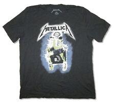 Metallica-Electric Chair-X-Large Black Soft Cotton T-shirt
