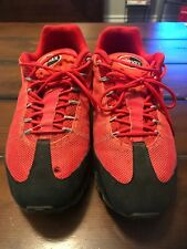 7544b19c60da Nike Air Max 95 - Red  Black 554715-066 (Dynamic Flywire) Free