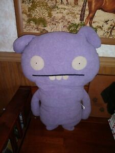 "Purple Lila Plush Monster 24"" Ugly Doll- Toodee Excellent Condition HTF"