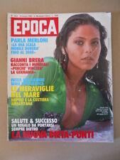 EPOCA n°1654 1982 Ornella Muti Gianni Brera Raquel Welch   [C37]