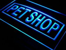 i451-b Pet Shop Supplies Grooming Dog Neon Light Sign