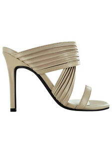 Senso Sera II Nude Beige Matt Kid Leather High Mule Sandal Summer Shoe