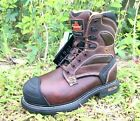 Thorogood Mens Genflex Leather Composite Safety Toe Boots 8in WP Insulated