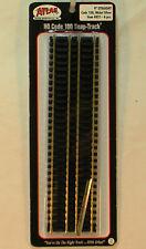 Atlas HO Scale 6x Straight Track Code 100 Nickel Silver