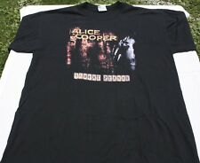 Alice Cooper Brutal Planet 2000 Tour Rock Band Concert Tour Tee-Shirt X-Large