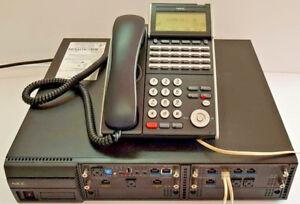 NEC SV9100 ph system w 15x DTL-24D h/sets,  12 months w/ty Tax inv