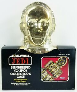 Star Wars ROTJ C-3PO Collector's Case for Action Figures 1983 Kenner No. 70440
