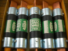 BUSSMANN NON-100 ONE TIME FUSE  NEW OLD STOCK QTY OF 5
