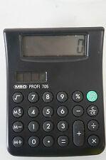 MBO Profi 705XM Desktop Calculator gecheckt Solar Vintage Elektronischer Rechner