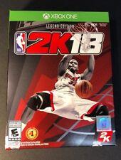 NBA 2K18 [ Legend Edition ] (XBOX ONE) NEW