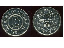GUYANA  10 cents  1990