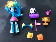 My Little Pony MLP Equestria Girls Minis Rainbow Dash School Pep Rally Soccer
