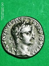 muy bonito denario de tiberio