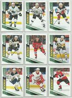 2019-20 UD PARKHURST HOCKEY ROOKIE CARDS RC (#271-320) U-PICK LIST