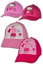 Peppa Wutz Hello Kitty Mädchen Basecap Mütze Sommermütze Baseballcap Pig Cap