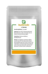 100g | L-Tyrosin Pulver | Muskelaufbau | Aminosäure | Nahrungsergänzungsmittel