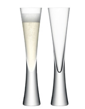 NEW LSA MOYA CHAMPAGNE GLASSES COLLECTION 170ml BARWARE MOUTH BLOWN GLASSNWARE