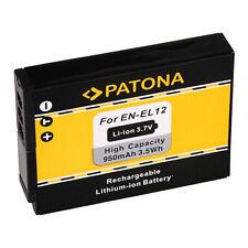 Patona Akku für Nikon CoolPix AW100 / AW110 / AW120 / AW130 - EN-EL12 - 950mAh