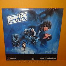 1992 CBS FOX VIDEO STAR WARS THE EMPIRE STRIKES BACK LASER DISC LASERDISC NTSC