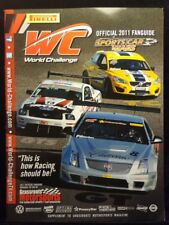 World Challenge 2011 Fan Guide Magazine Car Racing