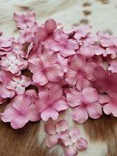 Pretty Pink Petal Scrapbook Flowers Floral Embellishments