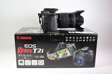 Canon T2i Ef-S 18-135 IS Kit/Bundle (Hood, 2 Batteries, Lens, Body, + More)