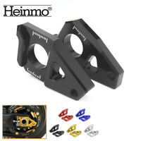 Rear Axle Spindle Chain Adjuster Block Fit For Yamaha YZF R1 FZ1 FZ8 TMAX 530