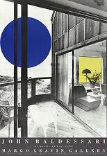 John Baldessari-Margo Leavin Gallery-1990 Poster