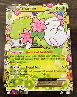 Authentic  Shaymin EX Pokemon Card New
