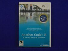wii ANOTHER CODE R A Journey Into Lost Memories Nintendo PAL UK ENGLISH Version