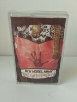 Vintage Cassette Tape New Model Army The Ghost Of Cain 1986 EMI Records Fame