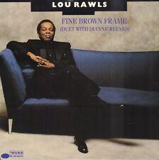 "LOU RAWLS & DIANNE REEVES – Fine Brown Frame (1989 VINYL SINGLE 7"" HOLLAND)"