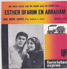 Esther Ofarim En Abraham-One More Dance Vinyl single Favorieten Expres