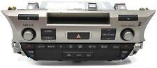 2013-2014 Lexus ES00H Radio Stereo Ac Control 86140-33060