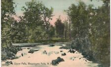 Wappingers Upper Falls Hand Colored 1910 NY