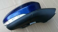 FORD MONDEO MK5 14 - ON ELECTRIC WING MIRROR O/S DRIVER SIDE IN BLUE